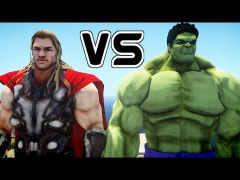 THOR VS HULK - EPIC BATTLE