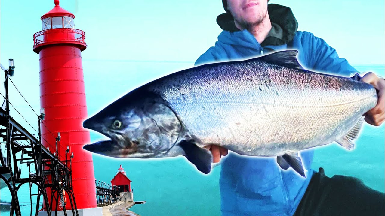 Pier Fishing for Spring King Salmon (feat. Seth Cunningham)