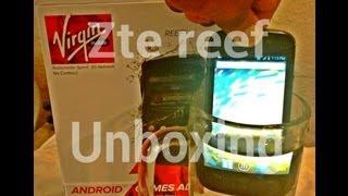 {Virgin mobile} ZTE REEF [unboxing]