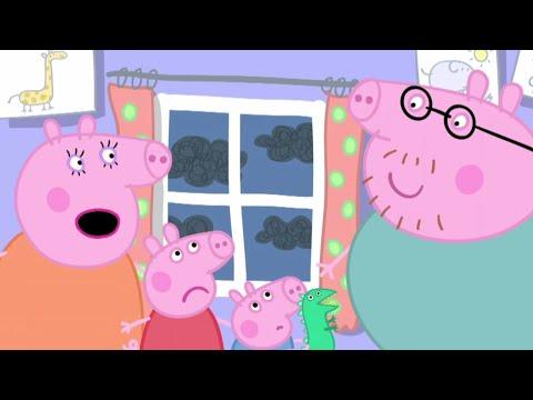 Peppa Pig Português Brasil - O TEMPORAL - Peppa Pig