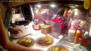 ВЛОГ: Подарок для мужа Печеный картофель и сердце