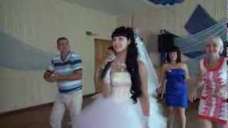 Свадьба видео видеосъемка свадьбы Волгоград невеста поет для жениха свой реп видео StudioK2A