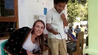 Lagu Manggarai, Bule nyanyi lagu daerah manggarai