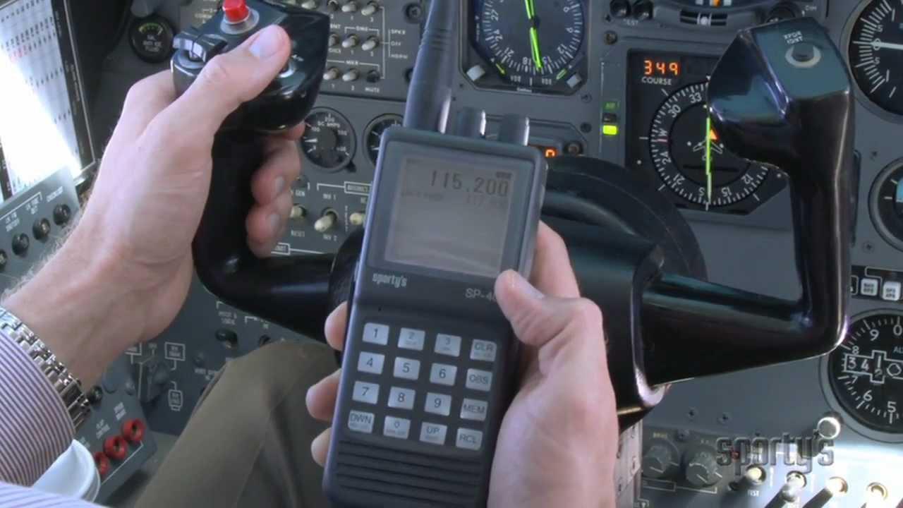 Sporty's SP-400 Nav/Com - The Ultimate Backup Aviation Radio!