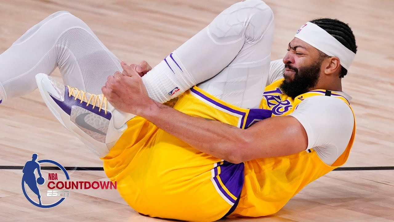 Lakers' Anthony Davis: Questionable Sunday