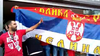 Сербы РАЗНОСЯТ Калининград - матч Сербия - Швейцария / ЧМ-2018 / Швейцария победила!!!