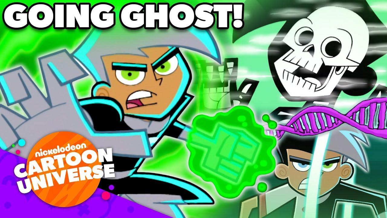 Epic Danny Phantom 'Going Ghost' Moments! 👻 | Nickelodeon Cartoon Universe