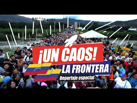 Asi está la FRONTERA COLOMBIA-VENEZUELA - Oscar Alejandro