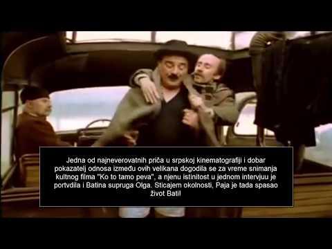 Glumac koji je spasio zivot Bati Stojkovicu a nije ga PODNOSIO !!!