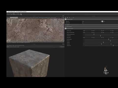 Create PBR material texture for iClone 7 with Substance Player 2017