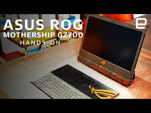 asus-rog-mothership-gz700-hands-on:-a-no-compromise-experience-at-ces-2019