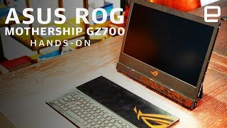 Asus ROG Mothership GZ700 Hands-On: A no-compromise experience at CES 2019