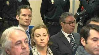 6 años de cárcel para Urdangarín y absolución para la infanta Cristina