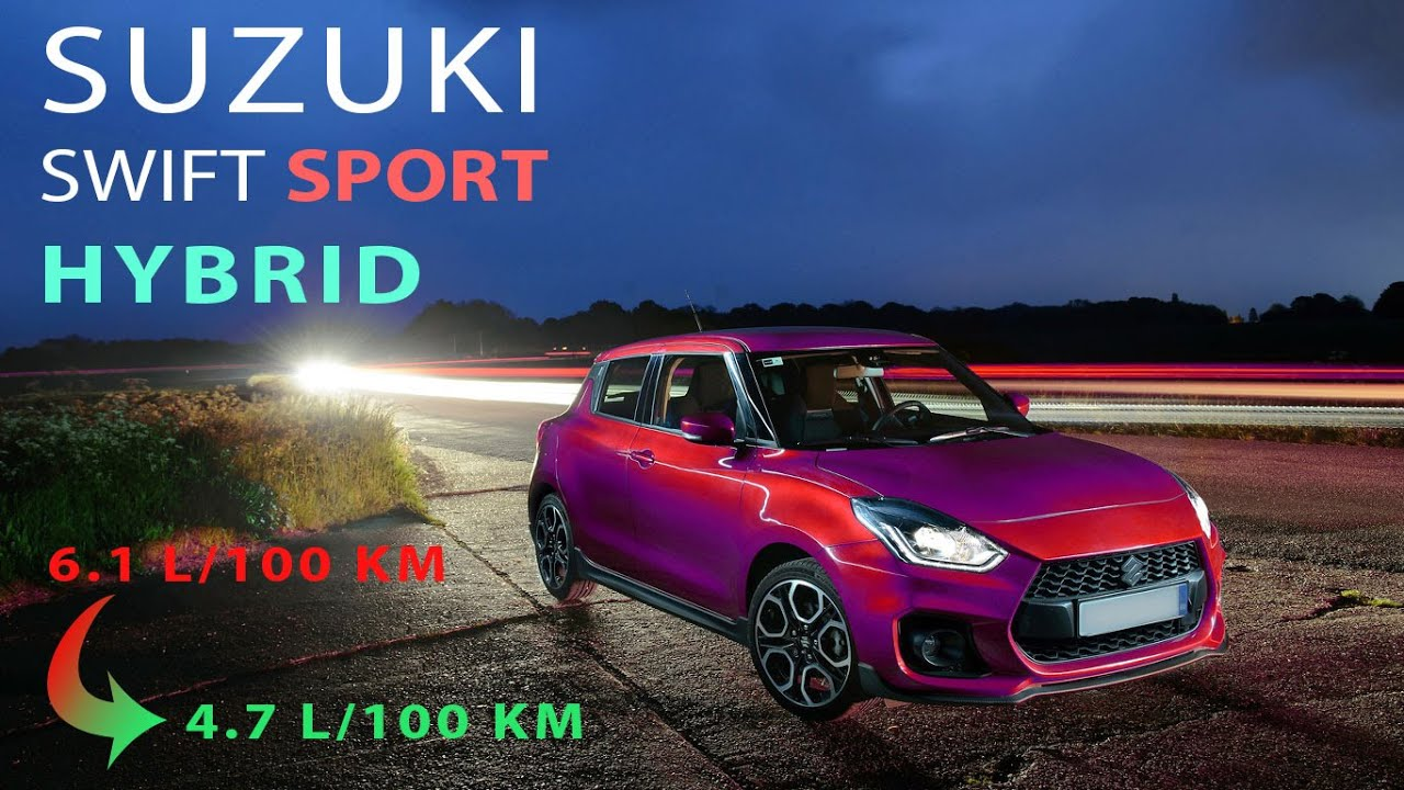 New Hybrid Suzuki Swift IV Sport for 4 4 as MHEV version of A4L4  Model