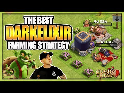 The Best TH 9 Dark Elixir Farming Strategy 2017 | No Hero Dark Elixir Farming Army | Clash of Clans