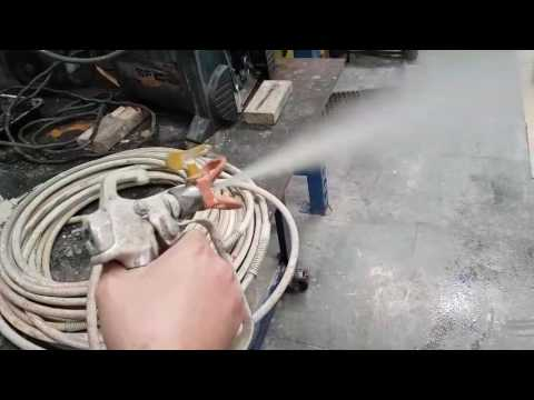Airless Repair. What Causes The Spray Gun To Splatter Or Spit