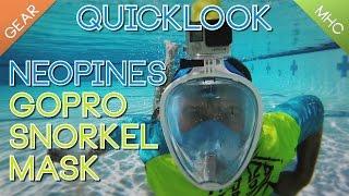 quicklook review neopine s gopro snorkel mask ndm 1