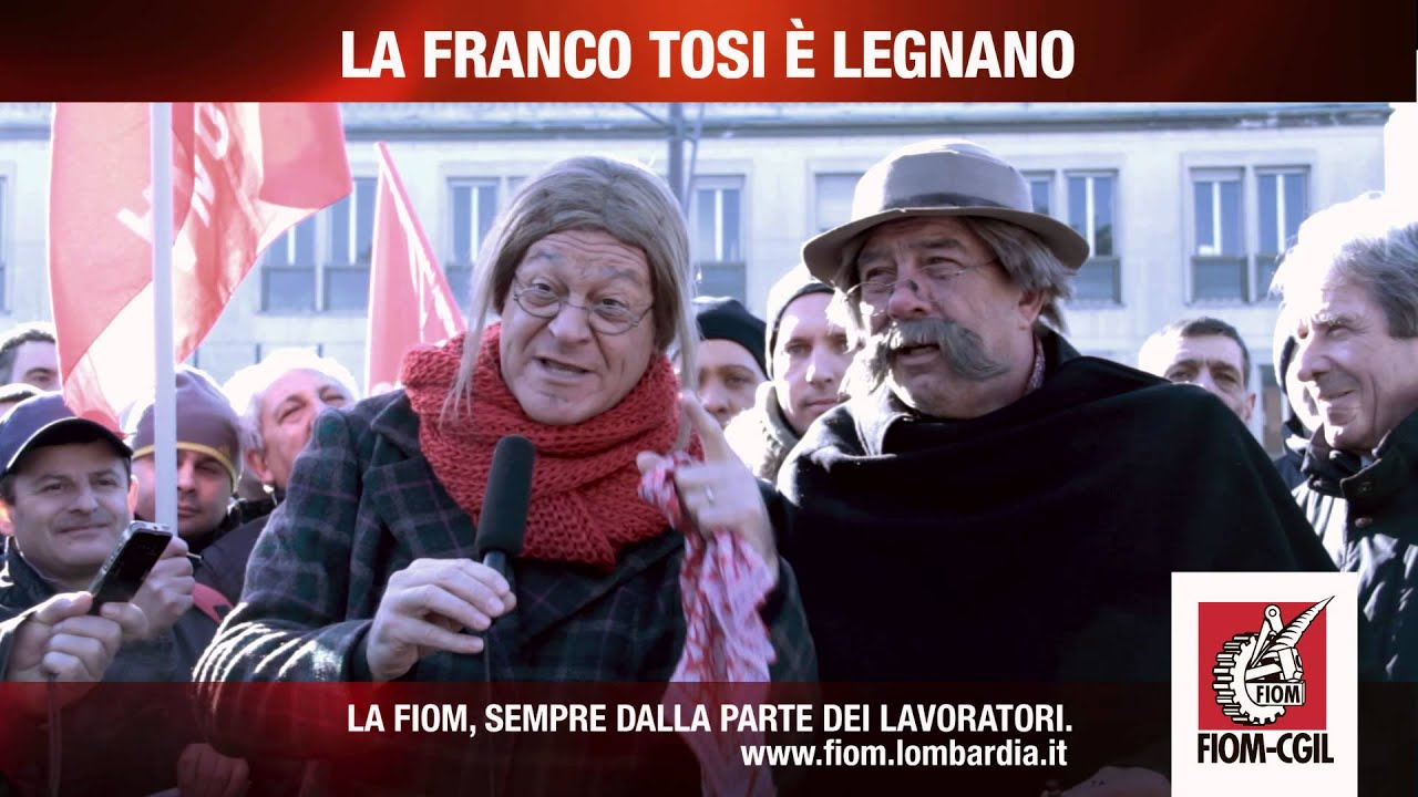Legnanesi per gli operai della Franco Tosi