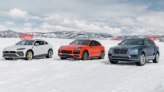 homepage tile video photo for Top Gear America   Behind-the-Scenes: Luxury SUVs in the Snow!   Valvoline