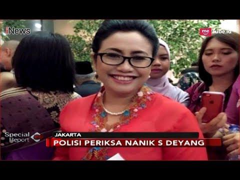 Nanik S Deyang Diperiksa Polisi Sebagai Saksi Kasus Hoaks Ratna Sarumpaet - Special Report 15/10