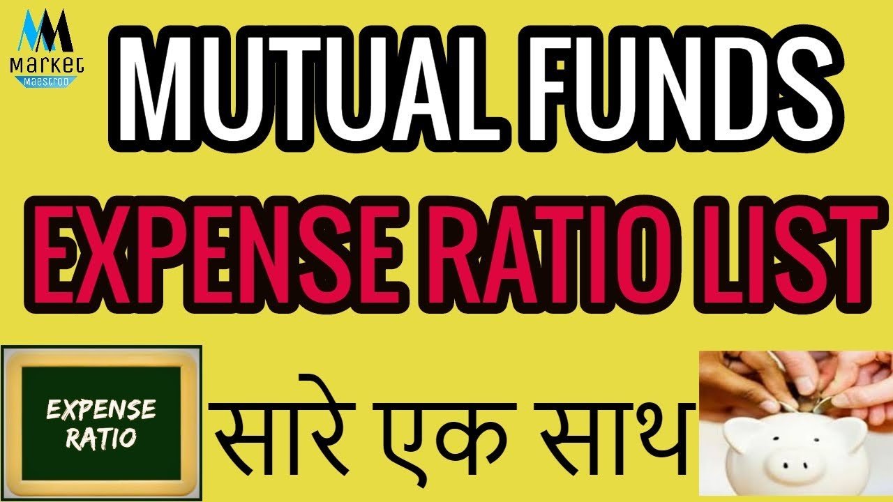 MUTUAL FUNDS EXPENSE RATIO LIST   ALL FUND TOGETHER
