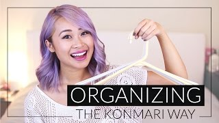 How to Organize Your Closet the KonMari Way