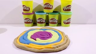 Learn Colors with Play Doh Ice Cream Peppa Pig Surprise Eggs Hello Kitty Educational Video