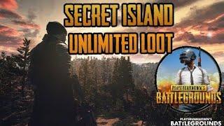 MIRAMAR(DESERT) MAP - SECRET ISLAND | FIND UNLIMITED LOOT - PUBG MOBILE