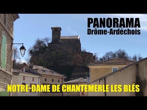 Panorama en Drôme Ardèche - Notre Dame de Chantemerle les Blés - juin 2018