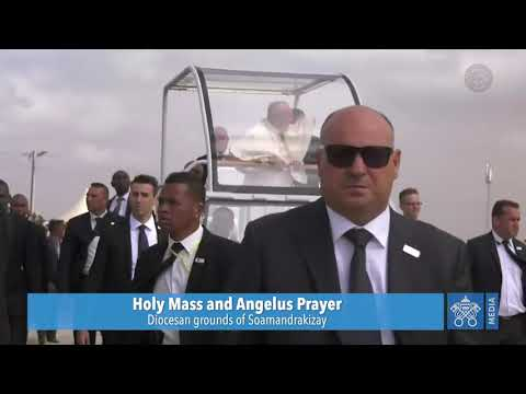 Holy Mass and Angelus Prayer | Pope Francis | Madagascar