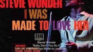 Stevie Wonder - Baby Don't You Do it