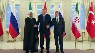Россия, Турция и Иран выступают за сохранение независимости и территориальной целостности Сирии.