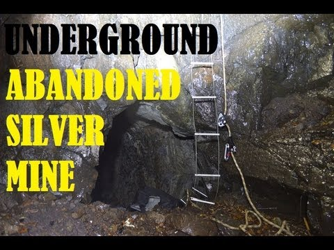 Abandoned Silver Mine Shaft - Underground Urban Exploration