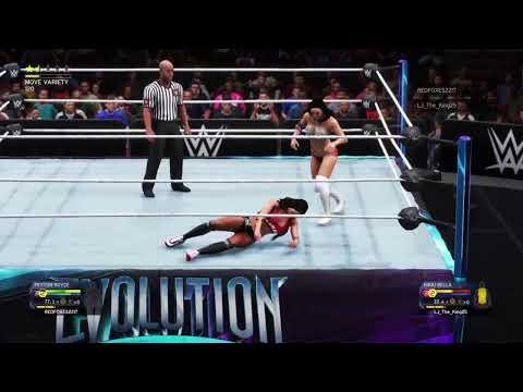 WWE 2K20 Week 20 womens |