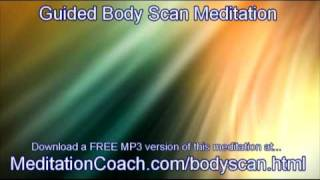 Gambar cover 10 Minute Guided Body Scan Meditation from The Meditation Coach