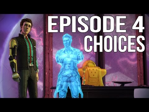 Tales from the Borderlands Episode 4 - All Choices/ Alternat