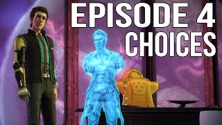 Tales from the Borderlands Episode 4 - All Choices/ Alternative Choices
