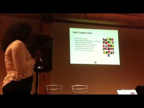 Artist publicity workshop: Aerial Ellis on PR 101