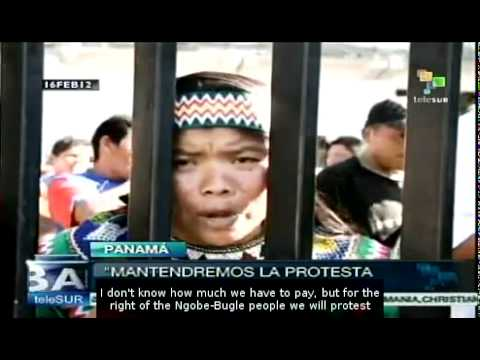 Panama: Indigenous mining protest blocks roads
