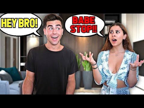 Calling My Girlfriend 'BRO' For 24 Hours.. **She Got Mad**