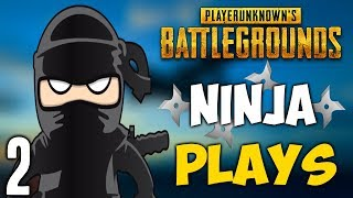 PUBG - WHEN PLAYERS ARE NINJAS 2 (Stealthy Plays)