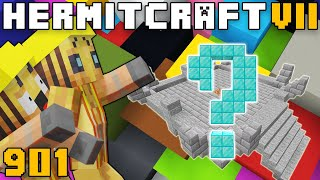 Hermitcraft VII 901 Double Trouble In The Cowmercial District!