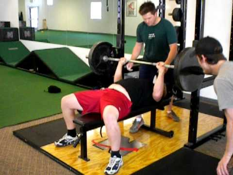 Alex Edwards Bench Press 225