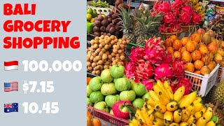 Gambar cover BALI GROCERY SHOPPING | PRICES INCLUDED
