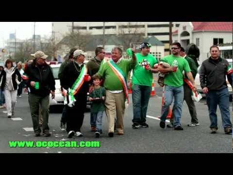 St. Patricks Day Parade 2012 Ocean City Maryland