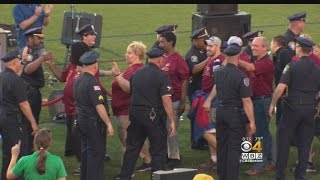 Massachusetts Police Show Their Support For Special Olympics