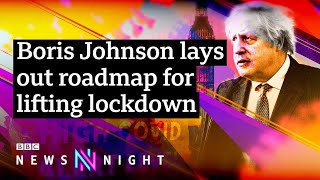 Covid-19: How realistic is the PM's timetable for easing England's lockdown? - BBC Newsnight