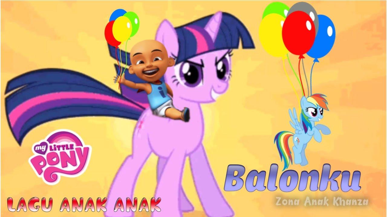 Balonku Lagu Anak Anak Kuda Poni Lucu YouTube
