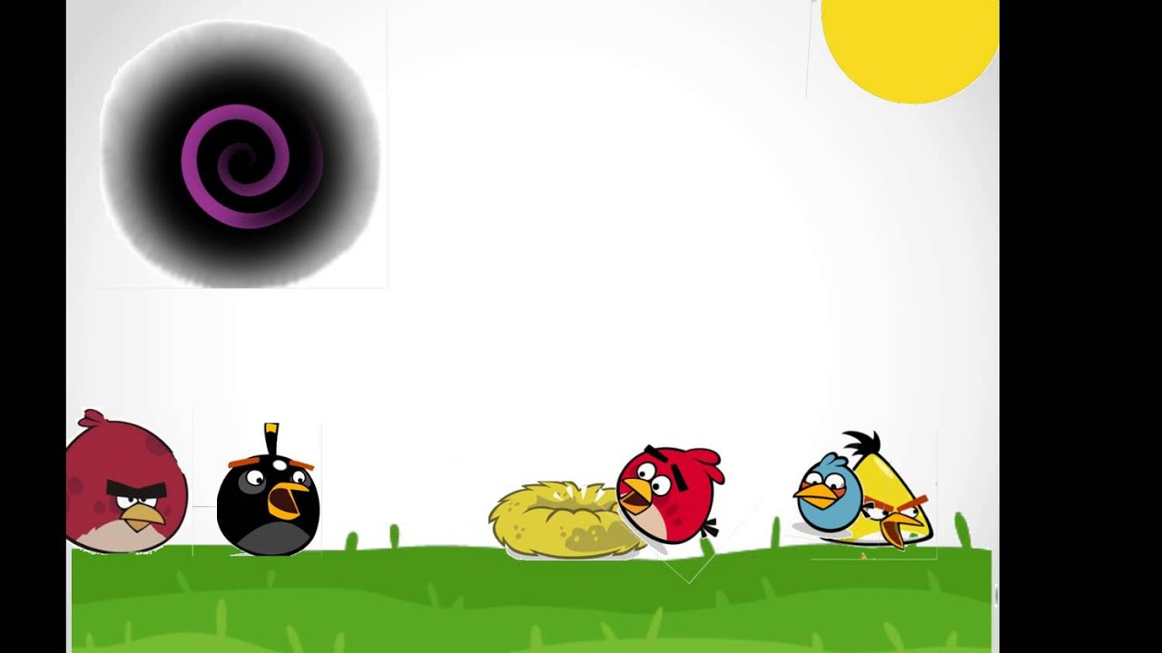 Angry Birds Space en powerpoint - YouTube