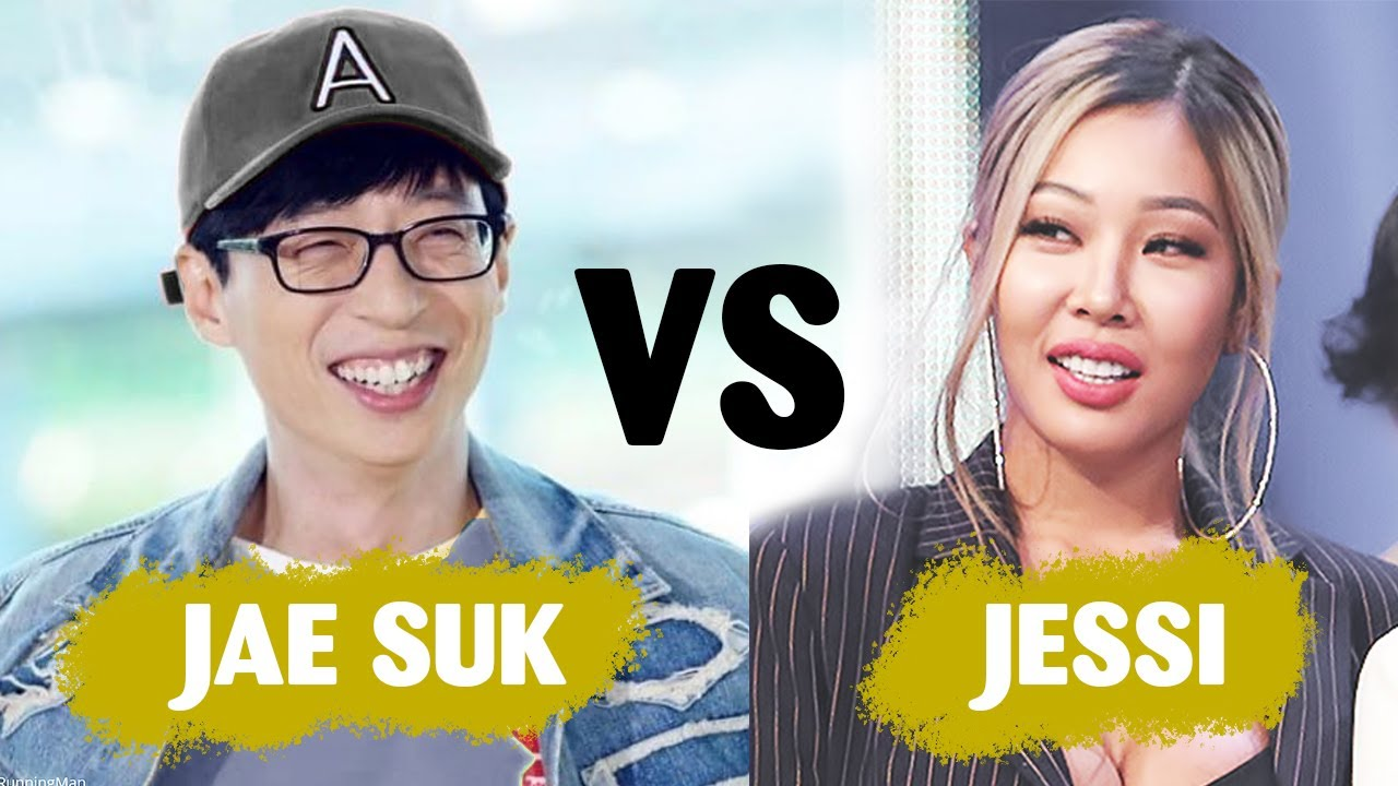 When queen Jessi and nation MC Yoo Jae Suk be in one room ...